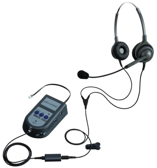 エンタープライズ製モジュラーS21パック両耳タイプ 一般電話機向け(アンプ接続)