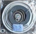 【業者様向き】【関東器材/KANTO】6P-203SP-4 エアコン配管セット 新冷媒対応2分3分6m 部品セット付電線付 1箱4本入り