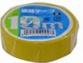 【オーム電機/OHM】DE1910Y  ビニールテープ  0.2mm19mm×10m  黄色 1巻