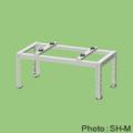 【業務用】【関東器材/KANTO】大箱4個入 SH-M 鉄製 エアコン平地置台(溶融亜鉛メッキ鋼板塗装仕上げアイボリー)新製品