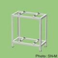 【関東器材/KANTO】 1箱2個入 SN-M エアコン2段置台(溶融亜鉛メッキ鋼板塗装仕上げアイボリー)新製品