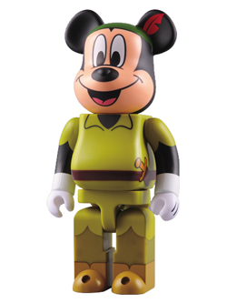 711限定 MICKEY MOUSE as PETER PAN BE@RBRICK 400%