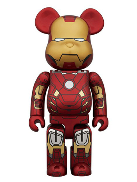 MEDICOM TOY EXHIBITION 2012限定 BE@RBRICK IRON MAN MARK VII ベアブリック 400%