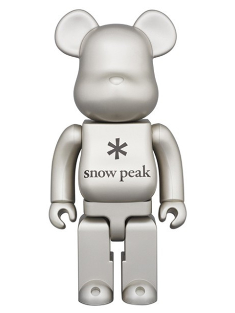 snow peak BE@RBRICK ベアブリック 400%