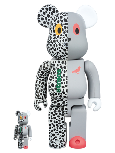 atmos x STAPLE  BE@RBRICK ベアブリック 100%&400%