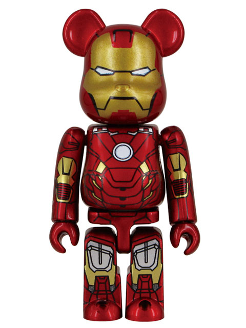 MEDICOM TOY EXHIBITION 2012限定 BE@RBRICK IRON MAN MARK VII ベアブリック 100%