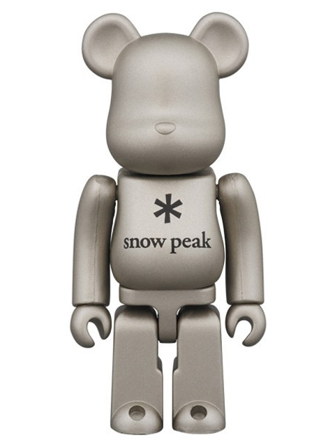 snow peak BE@RBRICK ベアブリック 100%