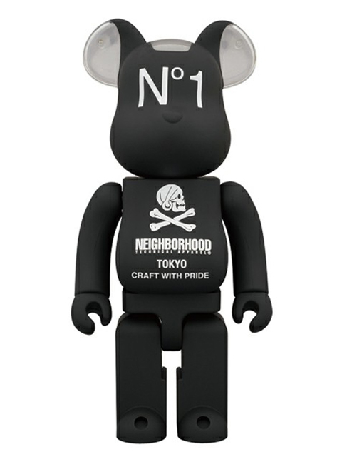 MEDICOM TOY EXHIBITION 2012限定 BE@RBRICK NEIGHBORHOOD ベアブリック 400%