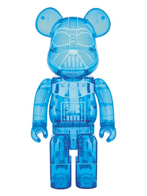 BE@RBRICK ベアブリック DARTH VADER(TM) HOLOGRAPHIC Ver.400%