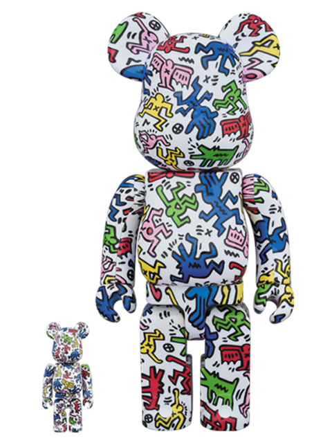 KEITH HARING BE@RBRICK ベアブリック 100%&400%