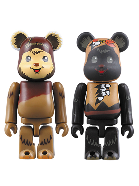 STAR WARS CELEBRATION JAPAN 開催記念商品 BE@RBRICK ベアブリック 100% Wicket & Paploo set
