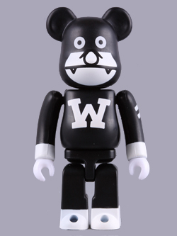 BEAMS限定 The WONDERFULMAN BE@RBRICK 100%
