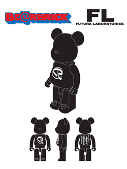 FUTURA LABORATORIES BE@RBRICK 100%