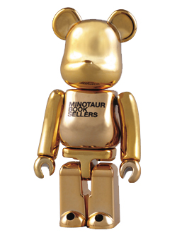 BE@RBRICK MINOTAUR BOOKSELLERS 100%