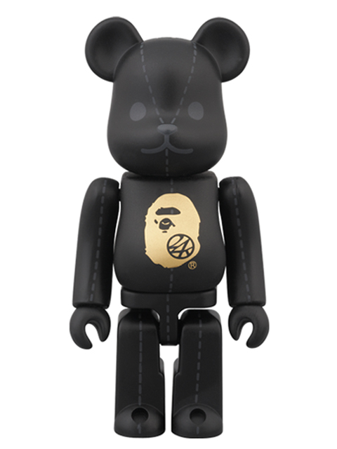 A BATHING APE(R) × 24karats BE@RBRICK ベアブリック 100%