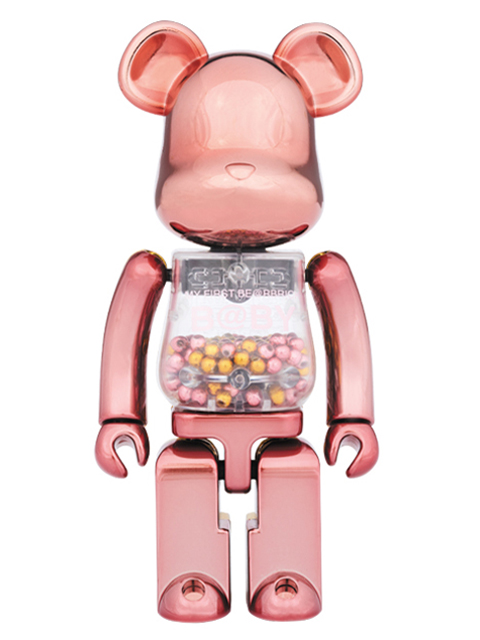 MEDICOM TOY EXHIBITION '17開催限定 ベアブリック 超合金 MY FIRST BE@RBRICK PINK & GOLD Ver.