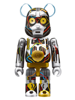 Happyくじ STAR WARS 2. C-3PO Ep1 Ver. BE@RBRICK ベアブリック 100%