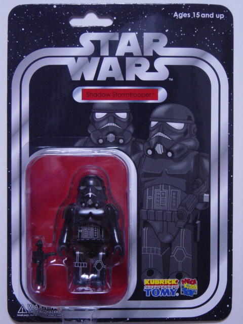 WCC限定 KUBRICK STAR WARS SHADOW STORM TROOPER
