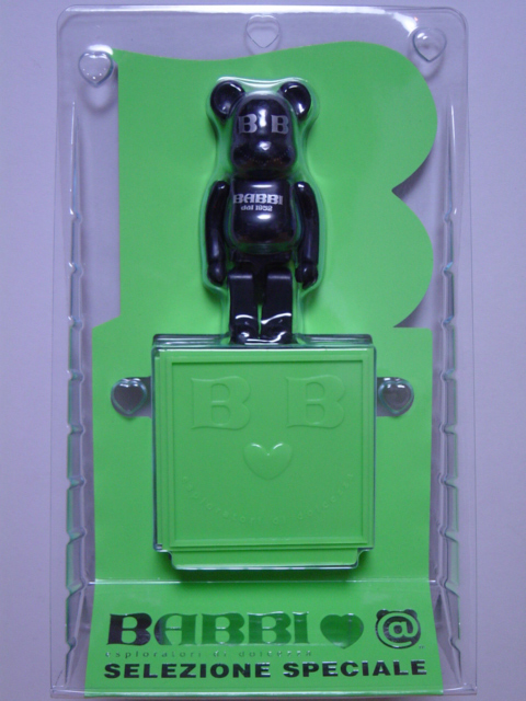 BABBI 55周年限定 BE@RBRICK Giallo verde