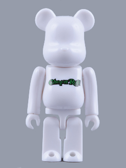 CHOP'N ROLL 5th.Anniversary BE@RBRICK 100%