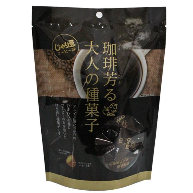 トーノー じゃり豆 コーヒー味 (個包装) 80g