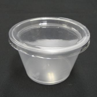ワルツ 耐熱プリンカップ(フタ付) 10ヶ入