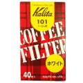 カリタ コーヒーフィルター 酸素漂白 101 40枚入