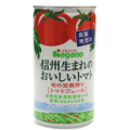 ナガノ 信州生まれのおいしいトマト 食塩無添加 190g 30本|045003×30