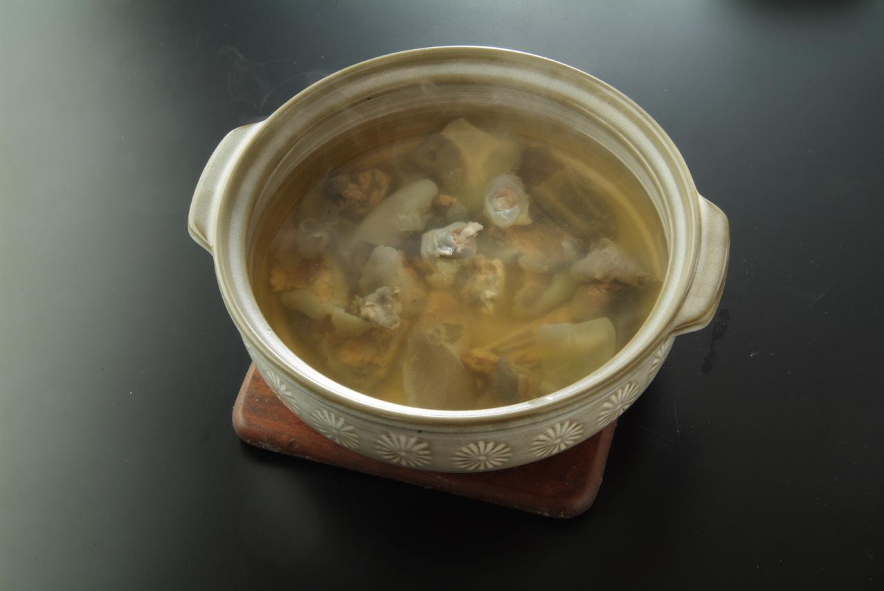 健美菜チェンメイサイ具入りスープ