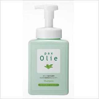【オリーブで優しく洗う】パックスオリーシャンプー550ml [商品番号:bi2200]
