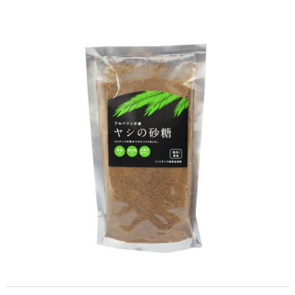 【ココナッツシュガー/血糖値がゆるやかな低GI無精製砂糖】椰子の花蜜の砂糖300g [商品番号:ke3106]