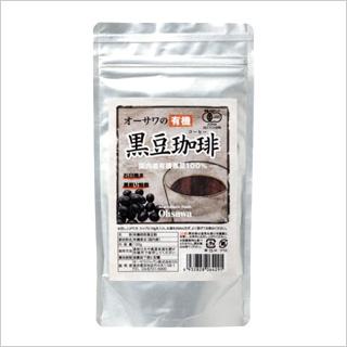 【健康と美容の黒豆コーヒー】オーサワの有機黒豆珈琲100g  [商品番号:ke3227]