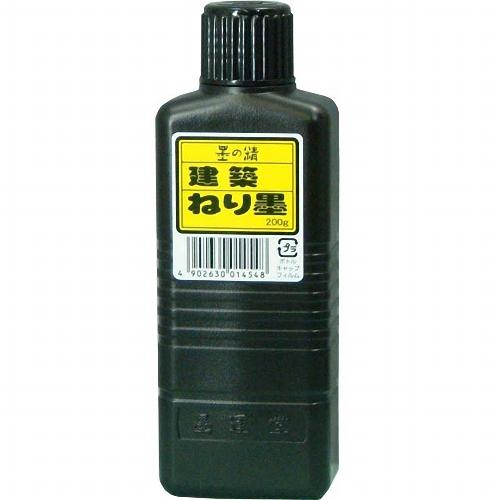 13403 墨運堂 建築用練墨 200 g