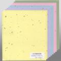 607623 寸松庵練習帳 五色鳥の子砂子入 5色×2枚入り1482