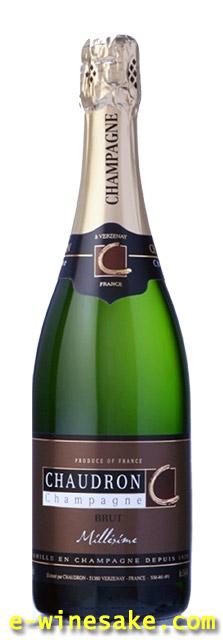 ショードロン/ヴィンテージ ブリュ2004年/シャンパーニュ/フランス/スパークリングワイン
