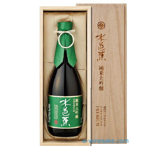 水芭蕉純米大吟醸プレミアム専用化粧箱入/720ml/永井酒造/群馬の地酒/酒の瀧澤