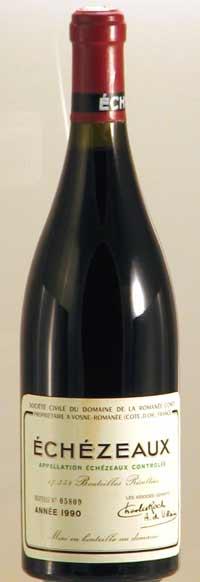 1990年 エシェゾー CRC ブルゴーニュ赤ワイン
