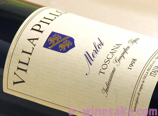 メルロー ヴィッラ・ピッロ トスカーナ赤ワイン