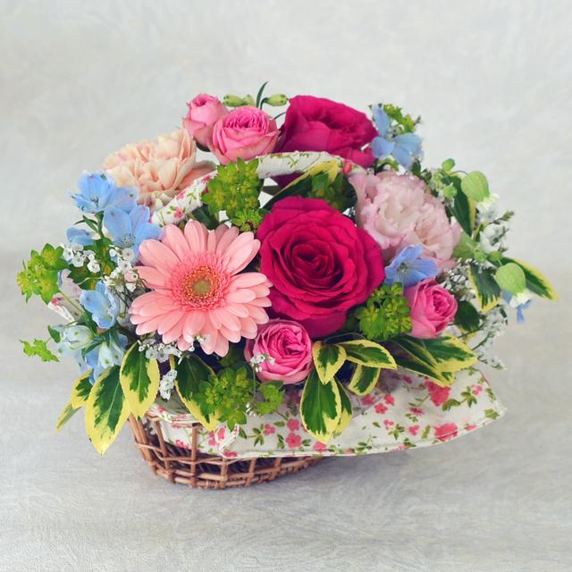 生花アレンジメント お祝い 花ばたけ