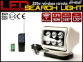 DC12V LED 30Wサーチライト/作業灯 360°回転 リモコン 白 P-361
