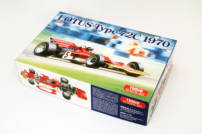 【20001】1/20 LOTUS Type 72C 1970 【PLASTIC KIT】
