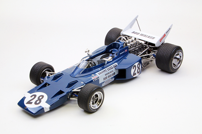 【20002】1/20 Rob Walker Team LOTUS Type 72C 【PLASTIC KIT】
