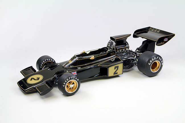 【20003】1/20 Team Lotus Type 72E 1973 【PLASTIC KIT】
