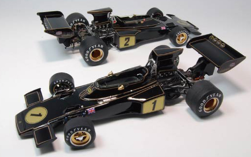【20009】1/20 Team Lotus Type 72E 1973 2nd production 【PLASTIC KIT】