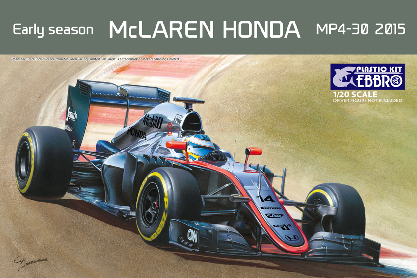 【20013】1/20 McLAREN HONDA MP4-30 2015 Early Season  【PLASTIC KIT】