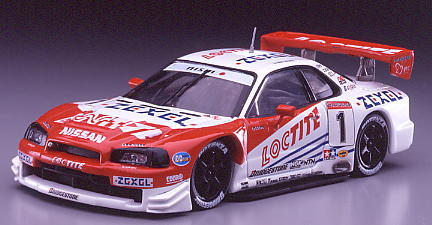 【43124-2】LOCTITE ZEXEL GT-R (LATE VERSION) JGTC 2000 LIMITED EDITION #1
