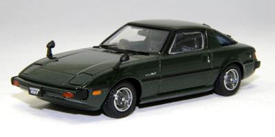 【43587】MAZDA SAVANNA RX7 GT 1978 (DARK GREEN)