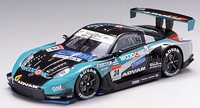 【43797】WOODONE ADVAN KONDO Z SUPER GT500 2006 No. 24