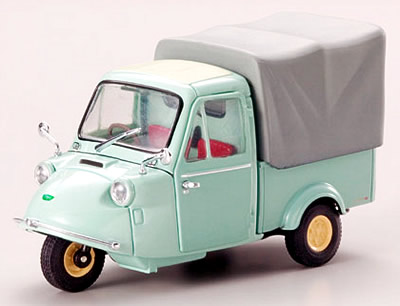 【43855】DAIHATSU MIDGET MP4 3WHEEL CANVAS TOP 1959