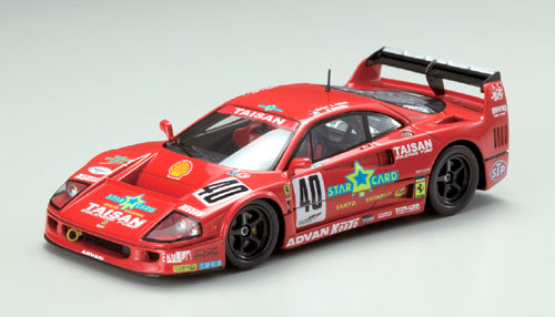 【43867】TAISAN STARCARD FERRARI F40 JGTC MEMORIAL No. 40 1995 【RESIN】